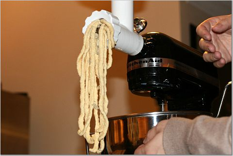 More Misadventures In Pasta Making The Kitchen Sink